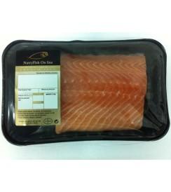 Salmón Noruego 600 grs LOMO fresco  (Calidad Sashimi)